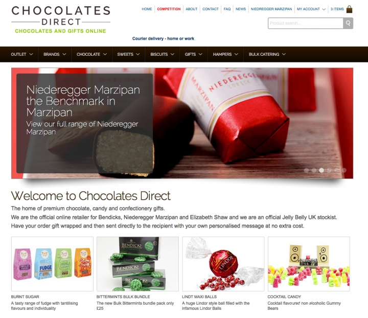 Chocolates Direct - online confectionery retailer